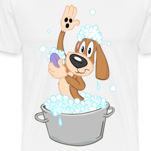 dog wash - Men's Premium T-Shirt