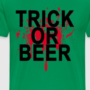 trick_or_beer_ - Men's Premium T-Shirt