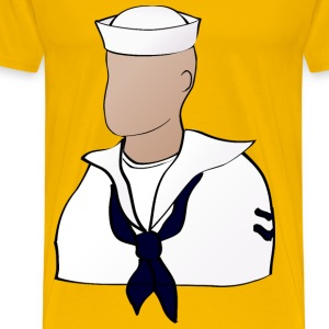 Faceless sailor - Men's Premium T-Shirt