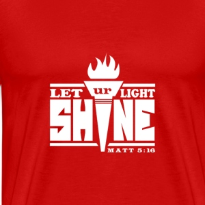 Let Your Light Shine T-Shirt - Men's Premium T-Shirt