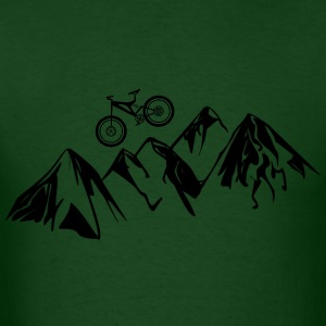 Mountain Bike High Peaks T-Shirt - Men's T-Shirt
