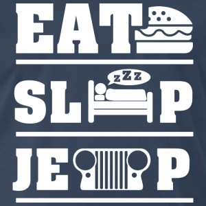 Eat, sleep, jeep T-Shirts - Men's Premium T-Shirt