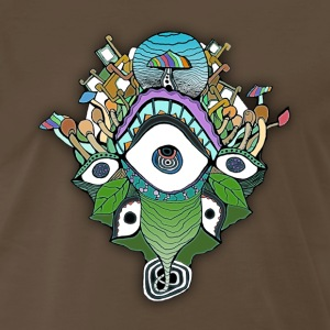 Mushroomspiral - Men's Premium T-Shirt