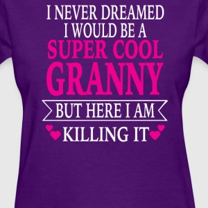 Super Cool Granny - Women's T-Shirt