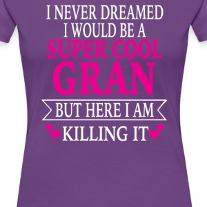 Super Cool Gran - Women's Premium T-Shirt