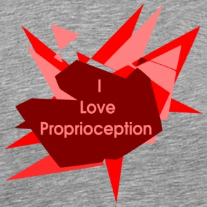 I love proprioception - Men's Premium T-Shirt