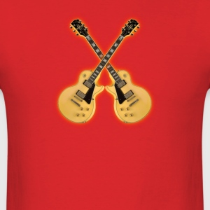 Les Paul blond - Men's T-Shirt