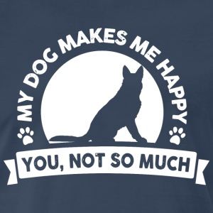My dog make me happy T-Shirts - Men's Premium T-Shirt