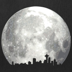 full moon skyline Bags & backpacks - Tote Bag