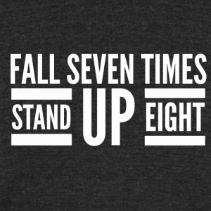 Stand up T-Shirts - Unisex Tri-Blend T-Shirt by American Apparel