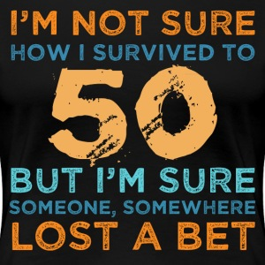 50th Birthday Survival - Women's Premium T-Shirt