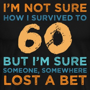 60th Birthday Survival - Men's Premium T-Shirt