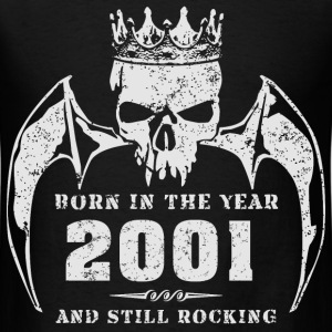 born_in_the_year_200116 T-Shirts - Men's T-Shirt