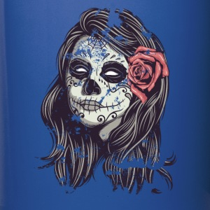 Sugar Skull Lady Halloween T-shirt Mugs & Drinkware - Full Color Mug