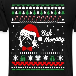 PUG CHRISTMAS - Men's Premium T-Shirt