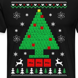 Chemist-Tree Christmas T-Shirts - Men's Premium T-Shirt