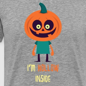 I'm hollow inside Halloween T-shirt T-Shirts - Men's Premium T-Shirt