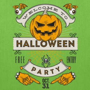 Halloween Party Bags & backpacks - Tote Bag
