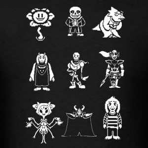 Undertale  - Men's T-Shirt