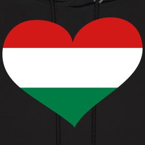 Hungary Heart; Love Hungary Hoodies - Men's Hoodie