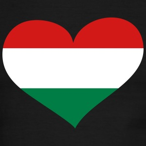 Hungary Heart; Love Hungary T-Shirts - Men's Ringer T-Shirt