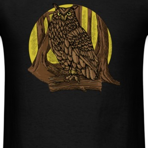Steampunk Owl - Men's T-Shirt