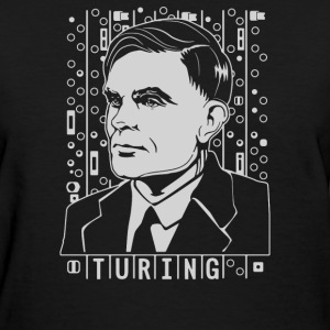 Alan Turing Tribute - Women's T-Shirt