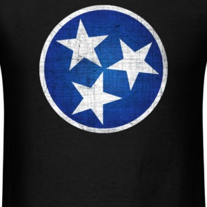 Tennesse State Flag - Men's T-Shirt
