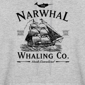 The Narwhal Whaling Company - Men's Hoodie