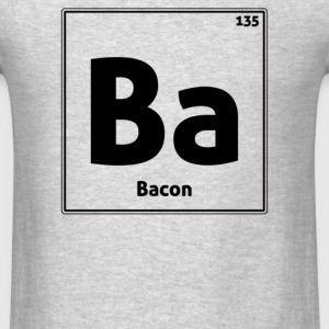 Bacon Periodic Table - Men's T-Shirt