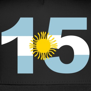 Argentinia Numbers, 15, Jersey Numbers Argentinia Sportswear - Trucker Cap