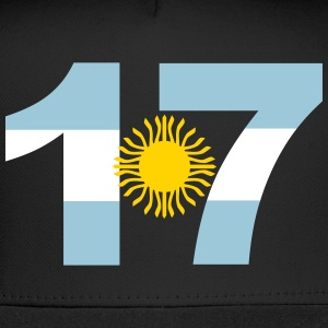 Argentinia Numbers, 17, Jersey Numbers Argentinia Sportswear - Trucker Cap