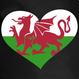 Wales Heart; Love Wales Other - Dog Bandana