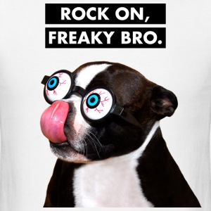 Hilarious Dog w Glasses T-Shirts - Men's T-Shirt