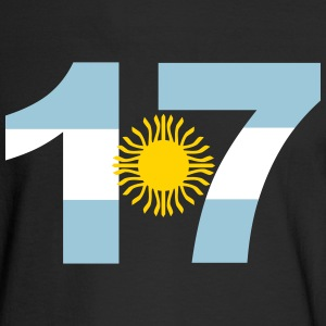 Argentinia Numbers, 17, Jersey Numbers Argentinia Long Sleeve Shirts - Men's Long Sleeve T-Shirt