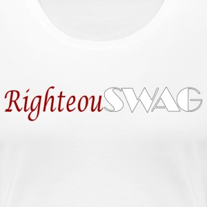 RighteouSWAG_logo T-Shirts - Women's Premium T-Shirt