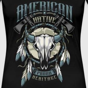 American Indian T-Shirts - Women's Premium T-Shirt