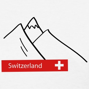 Switzerland: Swiss Mountains T-Shirts - Women's T-Shirt