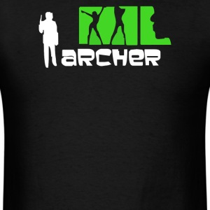 Archer Cartoon - Men's T-Shirt