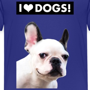 I HEART DOGS Baby & Toddler Shirts - Toddler Premium T-Shirt