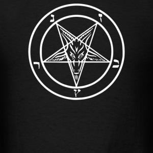 Baphomet Symbol - Men's T-Shirt