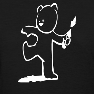 BANKSY TEDDY BEAR - Women's T-Shirt