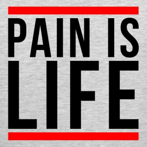 PAIN IS LIFE GYM WORKOUT BOXING MOTIVATION FITNESS Sportswear - Men's Premium Tank
