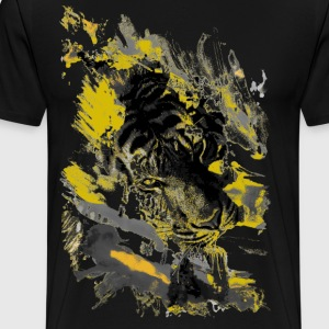 Yellow Tiger - Men's Premium T-Shirt