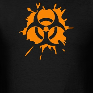 biohazard splat - Men's T-Shirt