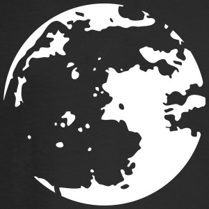 Moon Stencil Long Sleeve Shirts - Men's Long Sleeve T-Shirt