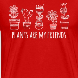 Plants are my friends Gardening T-shirt T-Shirts - Men's Premium T-Shirt