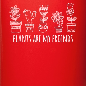 Plants are my friends Gardening T-shirt Mugs & Drinkware - Full Color Mug