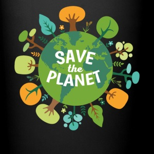 Save The Planet Ecology T-shirt Mugs & Drinkware - Full Color Mug