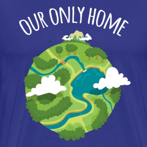 Our Only Home Ecology T-shirt T-Shirts - Men's Premium T-Shirt